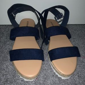 Espadrille Flatform Sandal